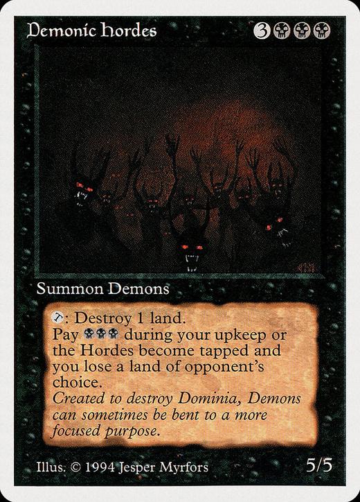 Demonic Hordes image