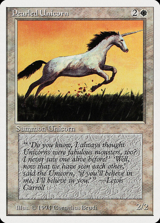 Pearled Unicorn image