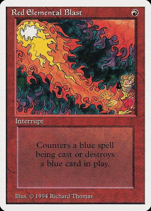 Red Elemental Blast image