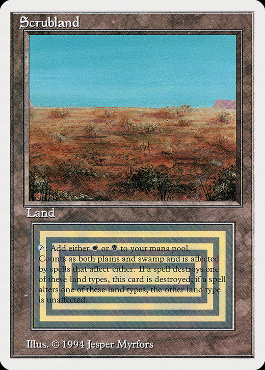 Scrubland image
