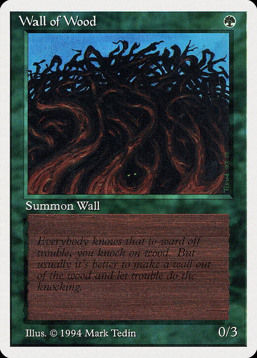 Wall of Wood image