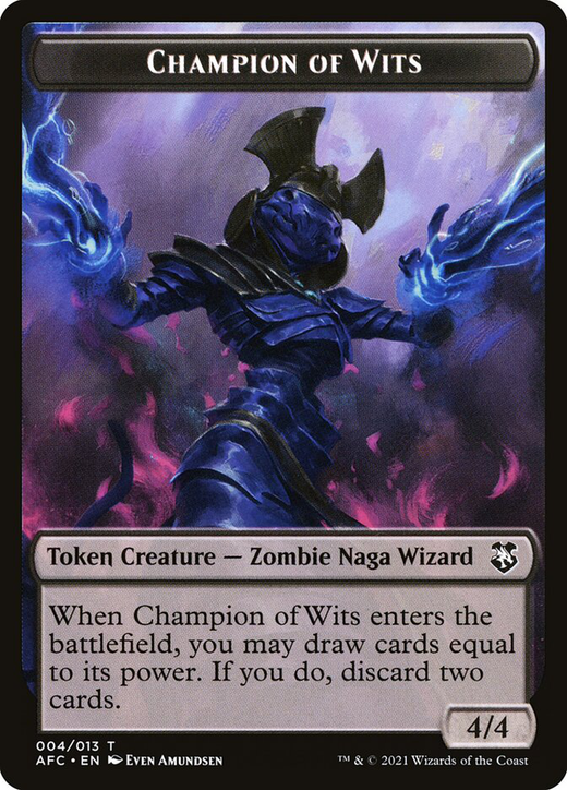 Champion of Wits Token image