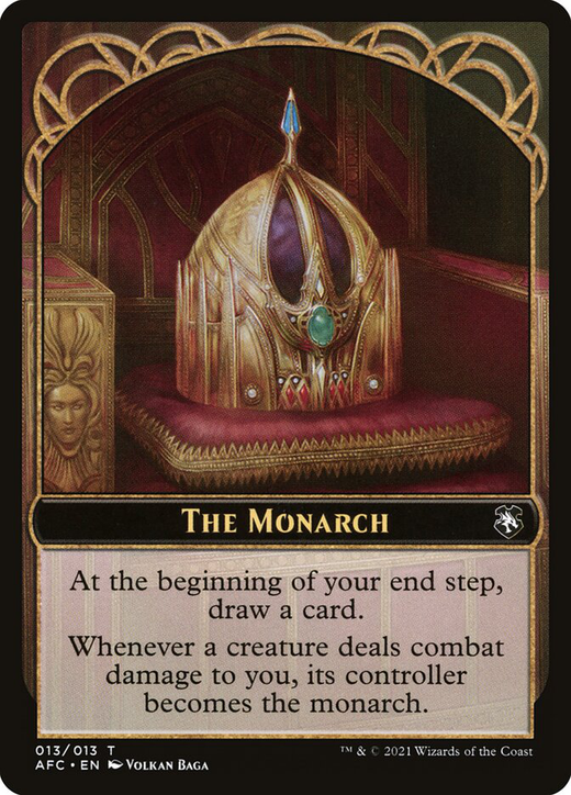 The Monarch Card image