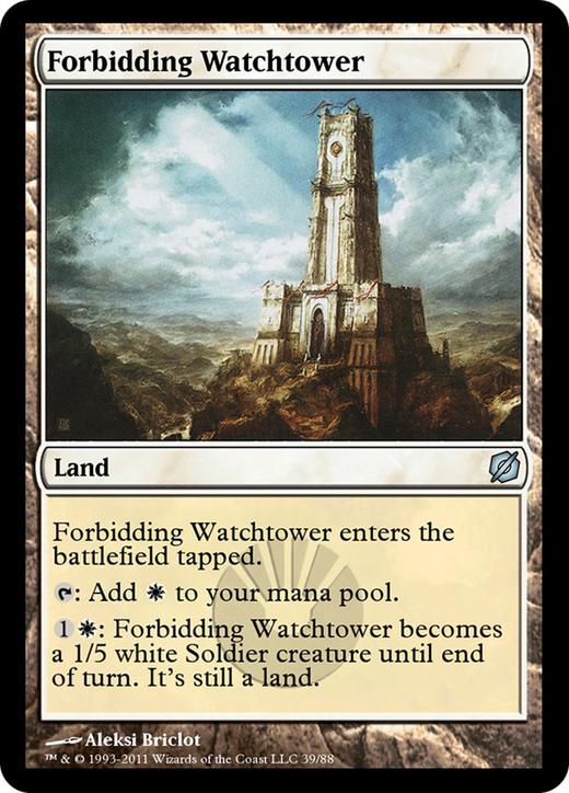 Forbidding Watchtower image