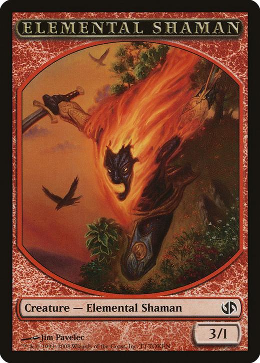 Elemental Shaman Token image