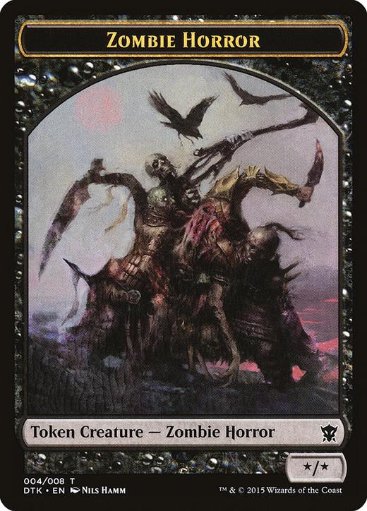 Zombie Horror Token image