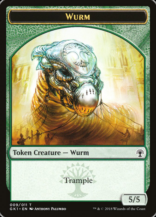Wurm Token // Saproling Token image