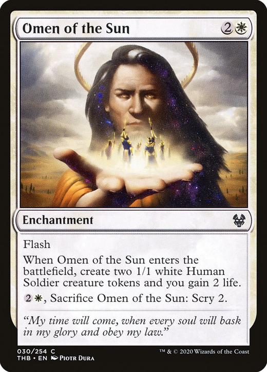 Omen of the Sun image