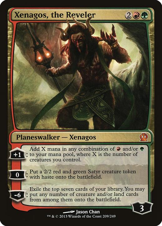 Xenagos, the Reveler image