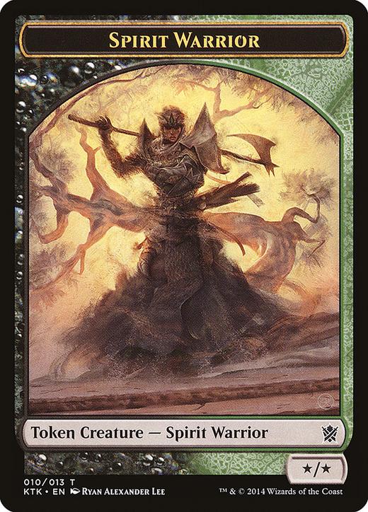 Spirit Warrior Token image