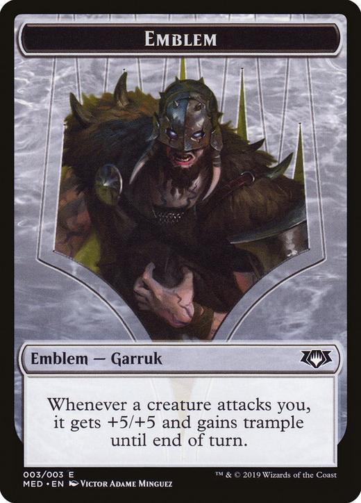 Garruk, Apex Predator Emblem image