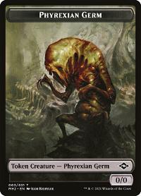 Phyrexian Germ Token image