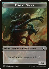 Eldrazi Spawn Token image