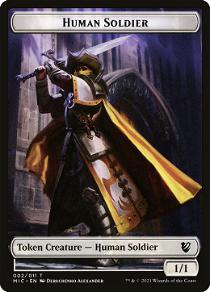 Human Soldier Token image