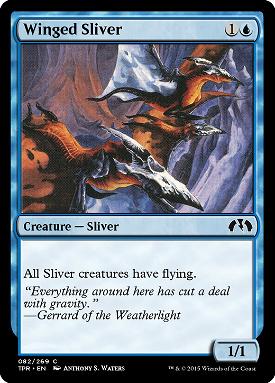 Winged Sliver image