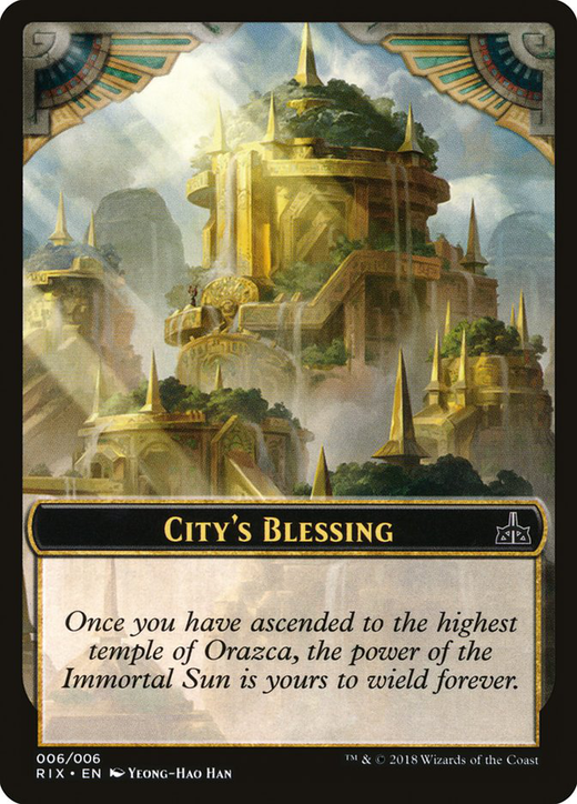 City's Blessing Card image