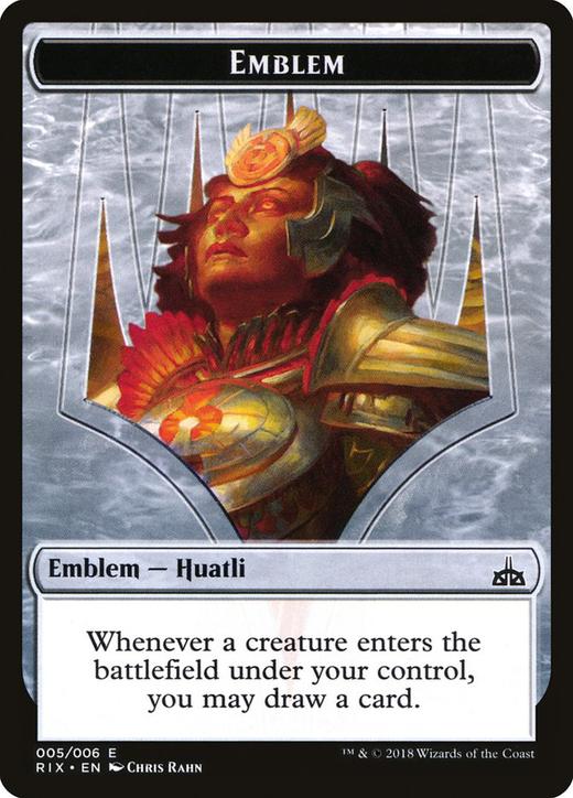 Huatli, Radiant Champion Emblem image