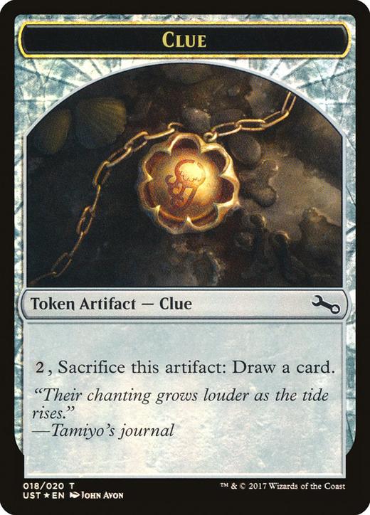 Clue Token // Clue Token image
