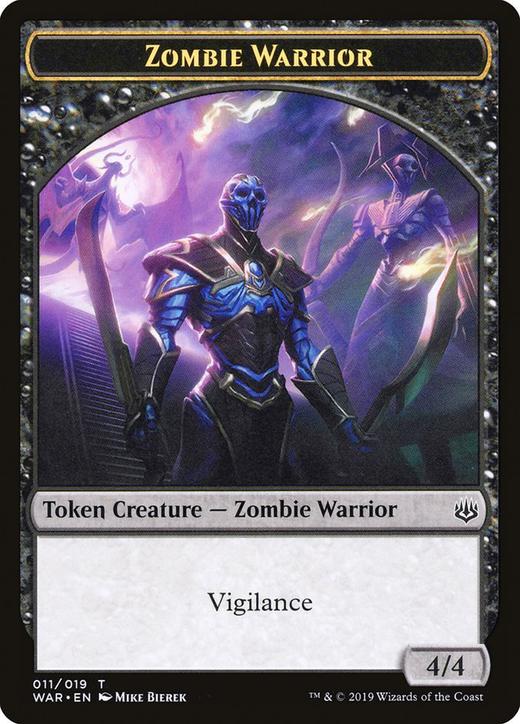 Zombie Warrior Token image
