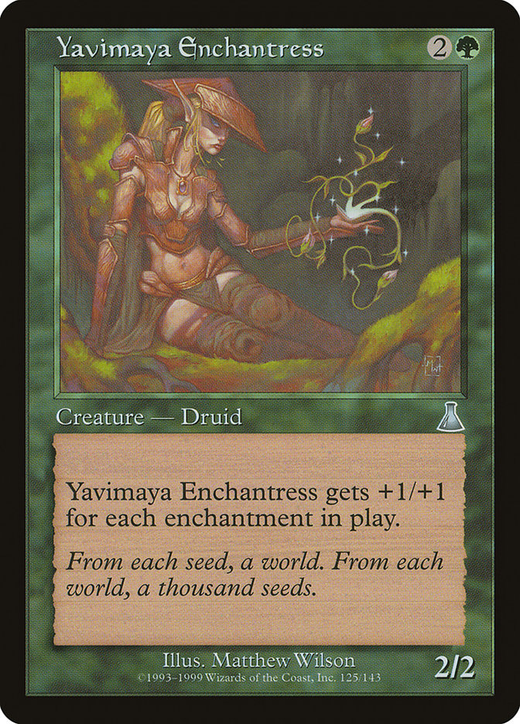 Yavimaya Enchantress image