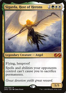 Sigarda, Host of Herons image