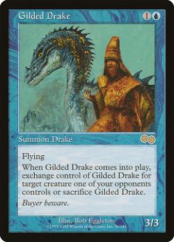 Gilded Drake image