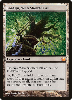 Boseiju, Who Shelters All image