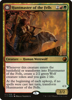 Huntmaster of the Fells // Ravager of the Fells image