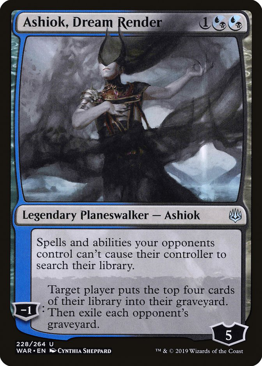 Ashiok, Dream Render image