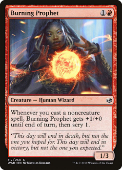 Burning Prophet image