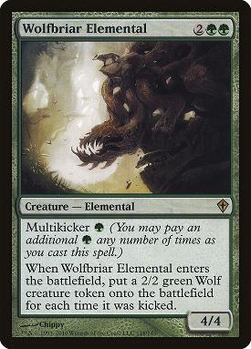 Wolfbriar Elemental image