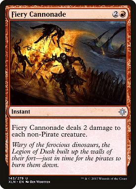 Fiery Cannonade image