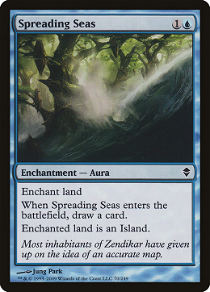 Spreading Seas