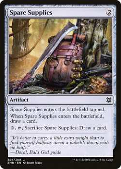 Spare Supplies image