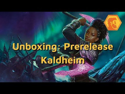 Unboxing: Kaldheim Prerelease