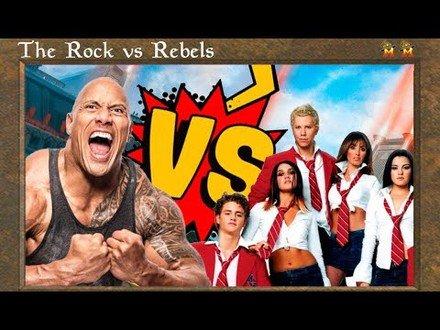 The Rock VS Counter Rebels - PREMODERN (Ptbr)