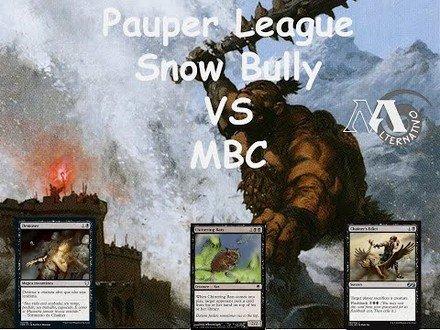 Pauper League Skrully R4 Vs Monoblack