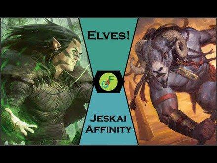 Elfos vs Jeskai Affinity - Gameplay Pauper MTG