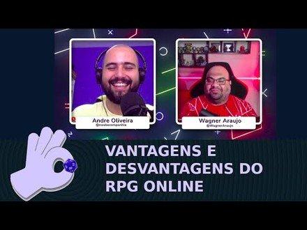 Vantagens e Desvantagens do RPG Online   RPG com #DadoDeProsa