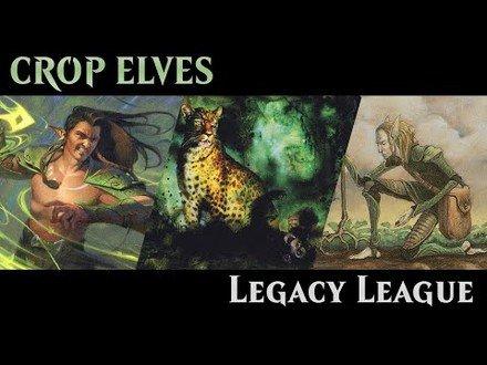 MTGO Legacy League - Crop Elves | Ep. 11