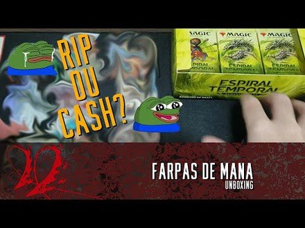 RIP OU CA$H? -  UNBOXING ESPIRAL TEMPORAL REMASTERIZADA