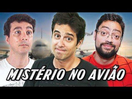 QUEDA DE AVIÃO com Fernando Caruso e Ulisses Mattos | De Quem é a Vez? - LIVENIGMAS com Elementar
