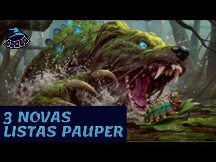 3 NOVAS LISTAS PAUPER COM STRIXHAVEN!