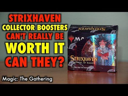 Strixhaven Collector Boosters Can't Really Be Worth It...Or Can They?