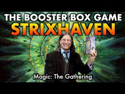 Let's Play The Strixhaven Booster Box Game For Magic: The Gathering!