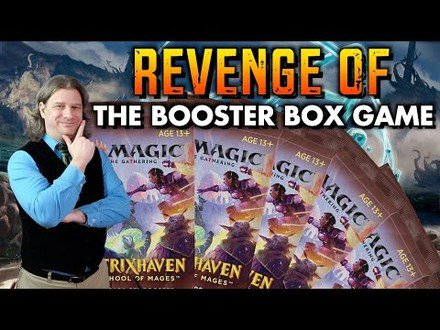Revenge Of The Booster Box Game | Magic: The Gathering