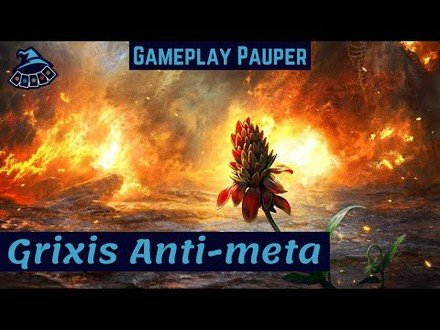 (GAMEPLAY PAUPER): Grixis Anti-Meta!