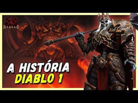 DIABLO 1 - A HISTÓRIA DO REI LEORIC E AIDAN | DIABLO LORE #2