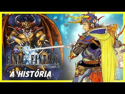 A HISTÓRIA DE FINAL FANTASY 1
