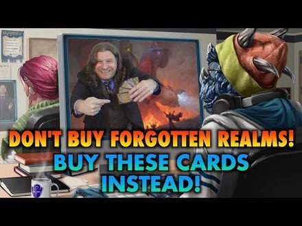 Don't Buy Magic's Adventures In The Forgotten Realms Set! Buy These Commander Cards Instead! MTG